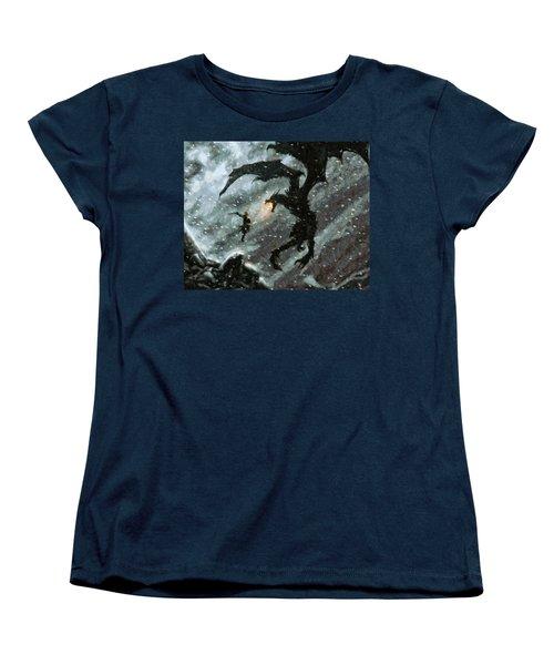 There Is No Fear Women's T-Shirt (Standard Cut) by Joe Misrasi