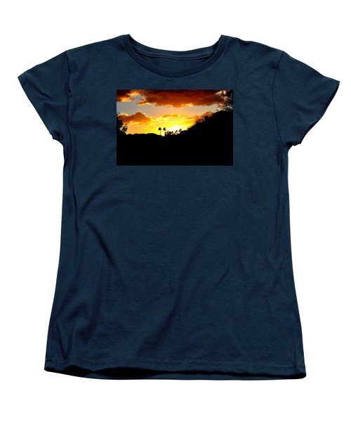 There's Gold In Them Thar Hills Women's T-Shirt (Standard Cut) by Jay Milo