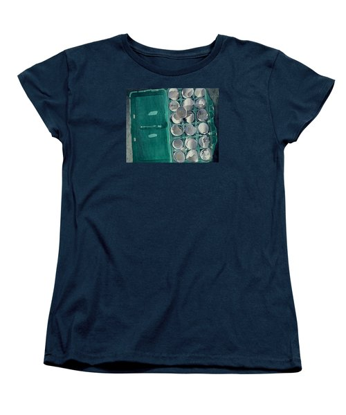 Women's T-Shirt (Standard Cut) featuring the painting They Asked Me For Omelettes by Jeffrey S Perrine