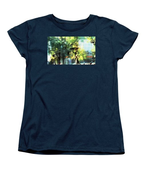 They Stand For Freedom Women's T-Shirt (Standard Cut) by Natalie Ortiz