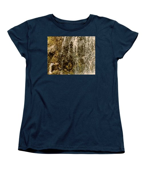 Thirsty Women's T-Shirt (Standard Cut) by Amazing Photographs AKA Christian Wilson
