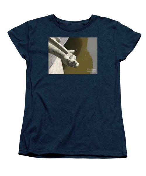 Thirsty Gargoyle Women's T-Shirt (Standard Cut) by HEVi FineArt