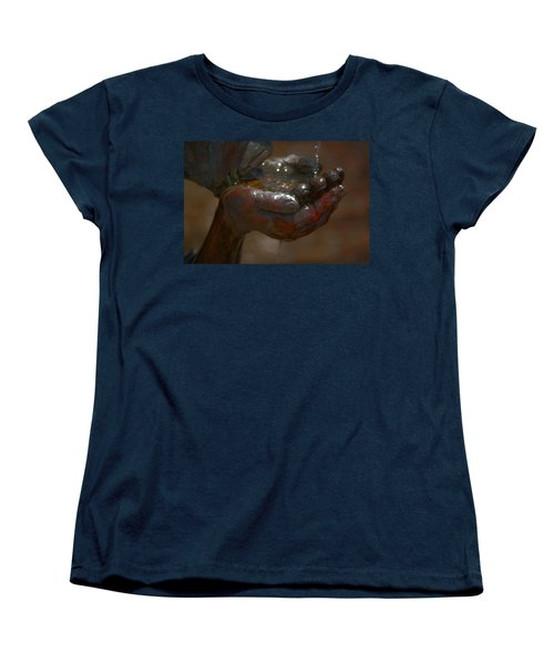 Women's T-Shirt (Standard Cut) featuring the photograph Thirsty by Leticia Latocki