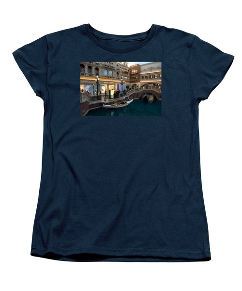 It's Not Venice - The White Wedding Gondola Women's T-Shirt (Standard Cut)