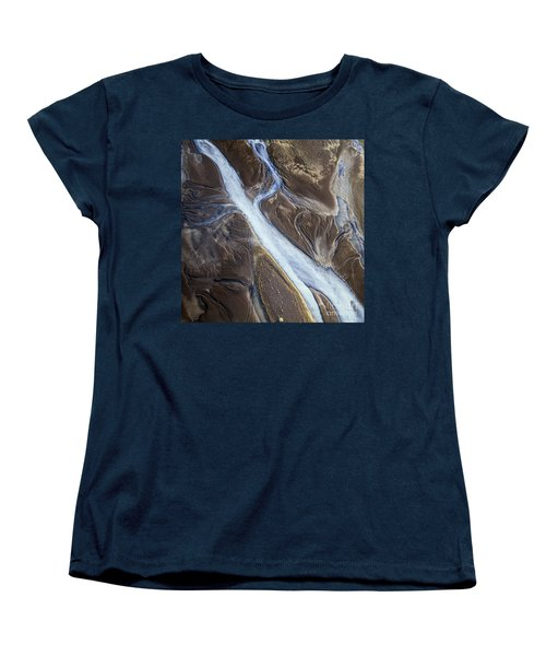 Women's T-Shirt (Standard Cut) featuring the photograph Thjosa by Gunnar Orn Arnason