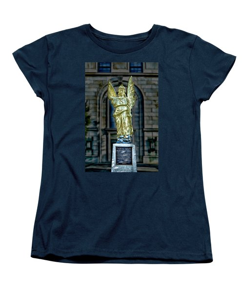 Thomas Wolfe Memorial Angel Women's T-Shirt (Standard Cut) by John Haldane