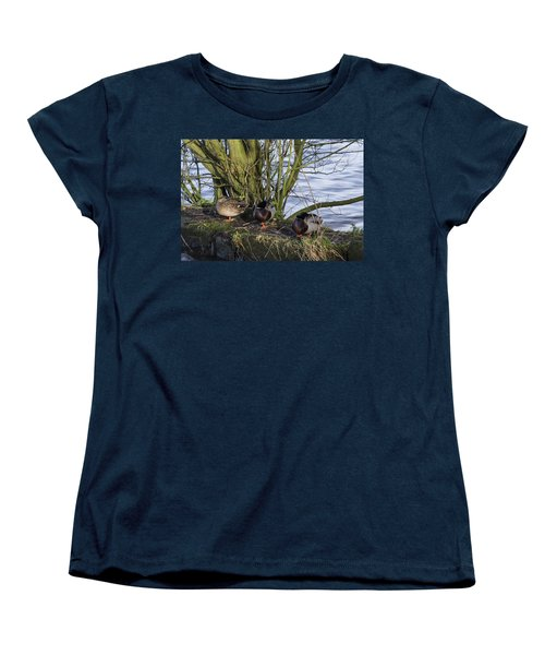 Three In A Row Women's T-Shirt (Standard Cut) by Spikey Mouse Photography