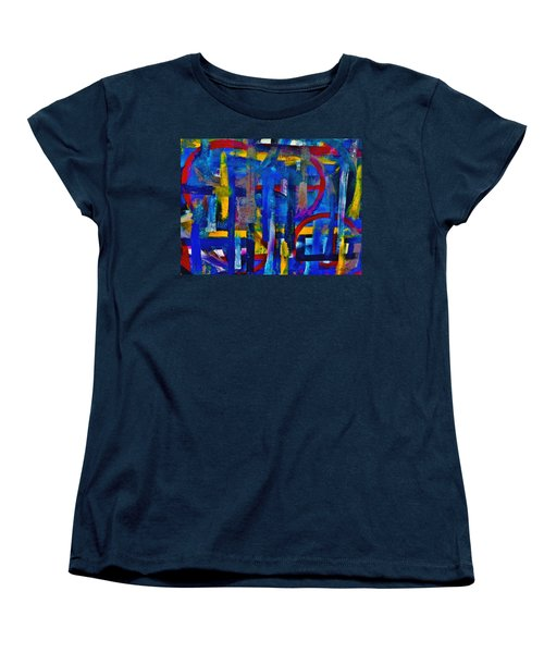 Anchored In Art Women's T-Shirt (Standard Cut) by Lisa Kaiser