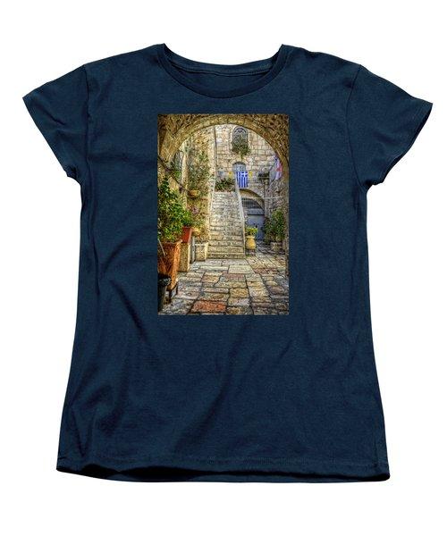 Through The Doorway Women's T-Shirt (Standard Cut) by Ken Smith