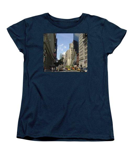 Women's T-Shirt (Standard Cut) featuring the photograph Through The Looking Glass by Meghan at FireBonnet Art