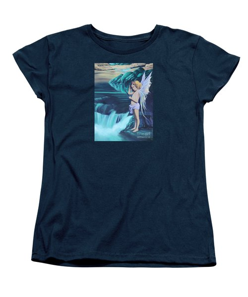 Through The Looking Glass Women's T-Shirt (Standard Cut) by Vivien Rhyan