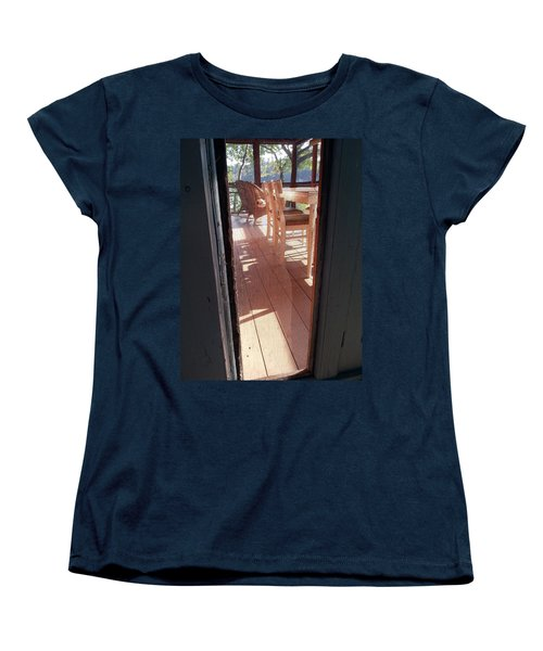 Through The Screen No 2 Women's T-Shirt (Standard Cut) by Lon Casler Bixby