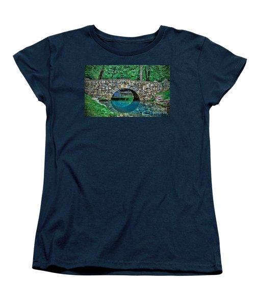 Through The Tunnel Women's T-Shirt (Standard Cut) by Elizabeth Winter