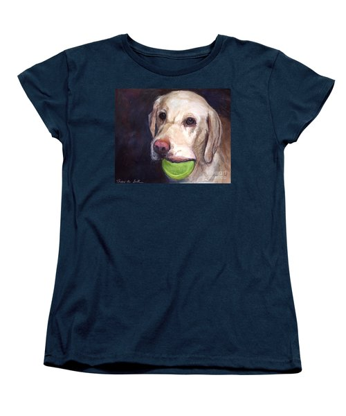 Throw The Ball Women's T-Shirt (Standard Cut) by Molly Poole