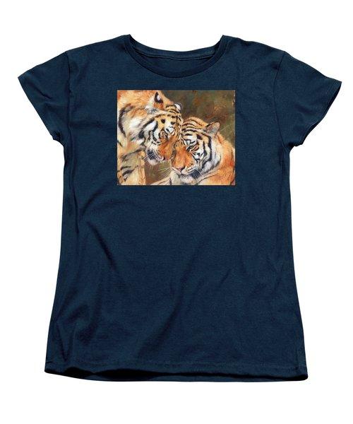 Tiger Love Women's T-Shirt (Standard Cut)