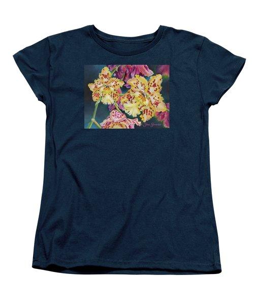 Tiger Orchid Women's T-Shirt (Standard Cut)