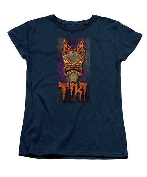 Women's T-Shirt (Standard Cut) featuring the photograph Tiki by WB Johnston