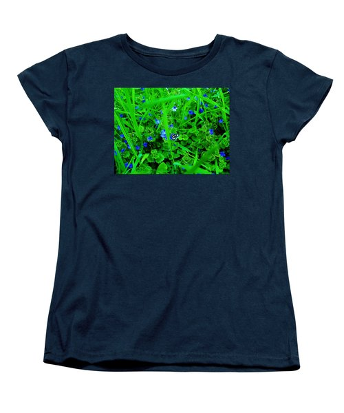 Women's T-Shirt (Standard Cut) featuring the photograph Tiny Butterfly by Sherman Perry