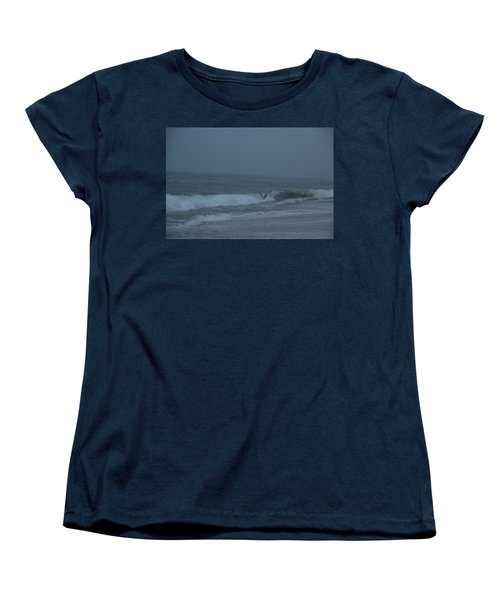 Women's T-Shirt (Standard Cut) featuring the photograph To The Galley by Neal Eslinger