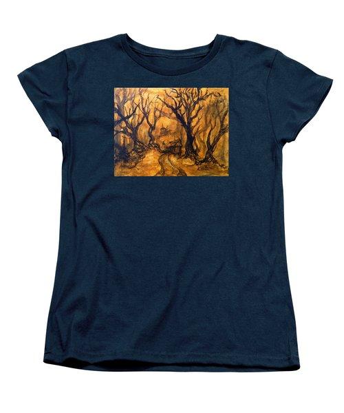 Toad Hollow Women's T-Shirt (Standard Cut) by Christophe Ennis