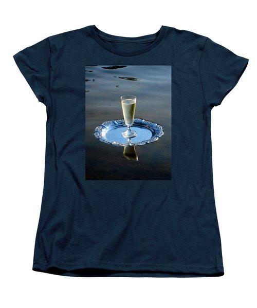 Women's T-Shirt (Standard Cut) featuring the photograph Toast To Life by Leena Pekkalainen