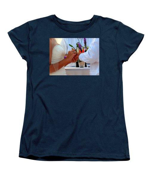 Token Of Love In The Islands Women's T-Shirt (Standard Cut) by Patti Whitten
