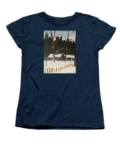 Tonys House In Sweden Women's T-Shirt (Standard Cut) by Pamela  Meredith