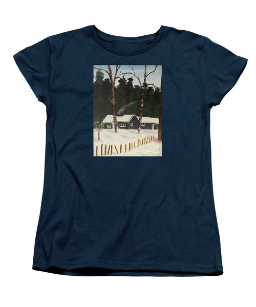 Tonys House In Sweden Women's T-Shirt (Standard Cut)