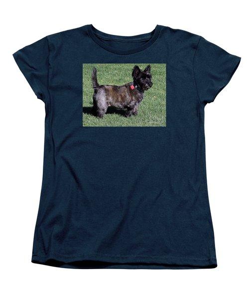 Toto's Sister Sweetpee Women's T-Shirt (Standard Cut) by Jay Milo