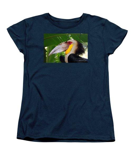 Toucan Women's T-Shirt (Standard Cut) by Sergey Lukashin