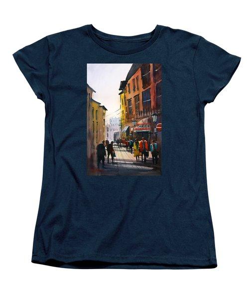 Tourists In Italy Women's T-Shirt (Standard Cut) by Ryan Radke