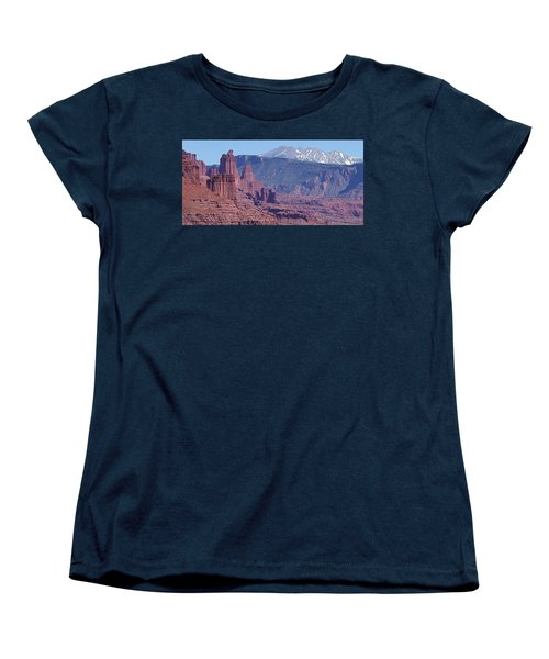 Towering Rockformations Women's T-Shirt (Standard Cut) by Bruce Bley