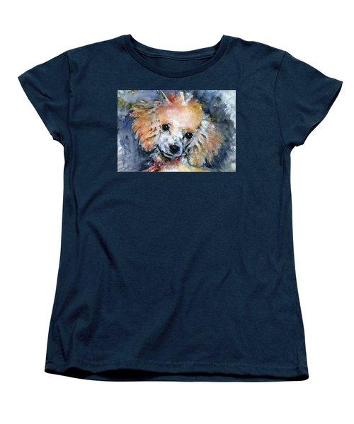 Toy Poodle Women's T-Shirt (Standard Cut) by John D Benson