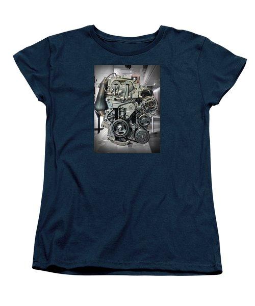 Toyota Engine Women's T-Shirt (Standard Cut) by RicardMN Photography