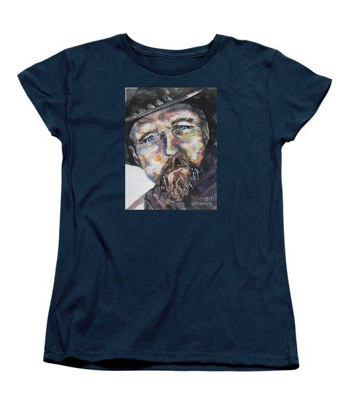 Trace Adkins..country Singer Women's T-Shirt (Standard Cut) by Chrisann Ellis