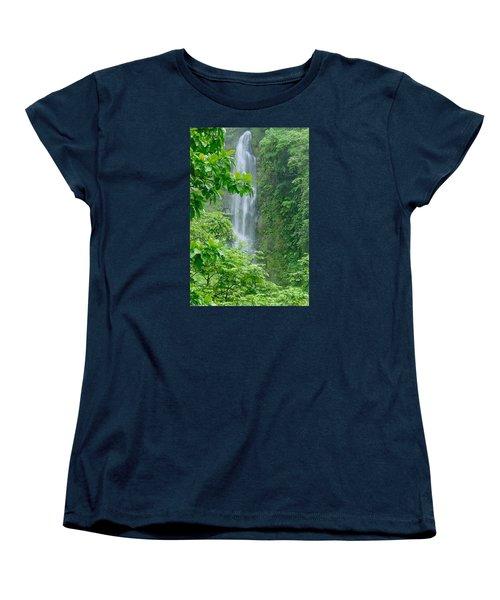 Trafalger Falls Women's T-Shirt (Standard Cut) by Robert Nickologianis