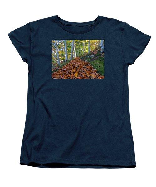 Women's T-Shirt (Standard Cut) featuring the photograph Trailblazing by Dianne Cowen