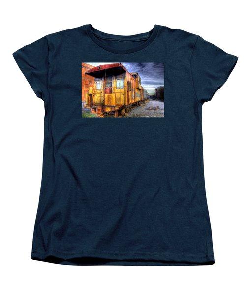 Train Caboose Women's T-Shirt (Standard Cut) by Jonny D