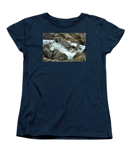 Women's T-Shirt (Standard Cut) featuring the photograph Tranquility by Lisa Phillips