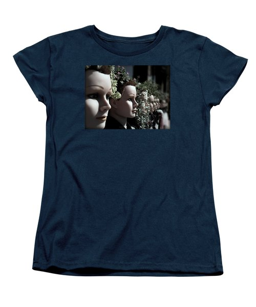 Women's T-Shirt (Standard Cut) featuring the photograph Transplants by Micki Findlay