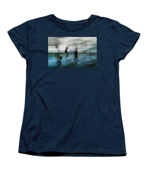 Women's T-Shirt (Standard Cut) featuring the photograph Travel Blues by Alex Lapidus