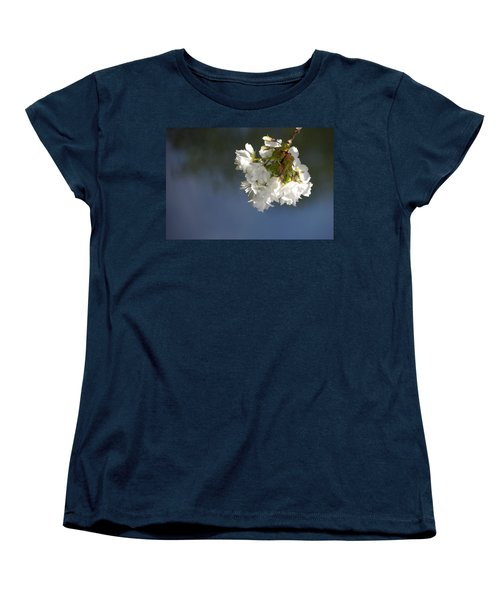 Women's T-Shirt (Standard Cut) featuring the photograph Tree Blossoms by Marilyn Wilson