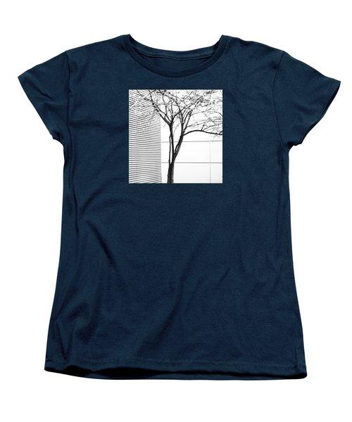 Tree Lines Women's T-Shirt (Standard Cut) by Darryl Dalton