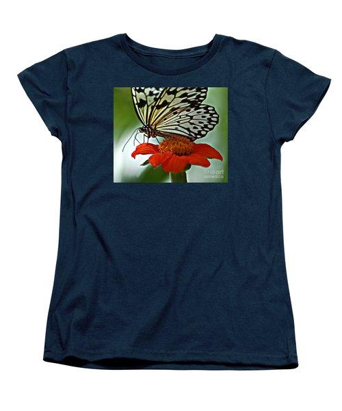 Tree Nymph Closeup Women's T-Shirt (Standard Cut) by Diane E Berry