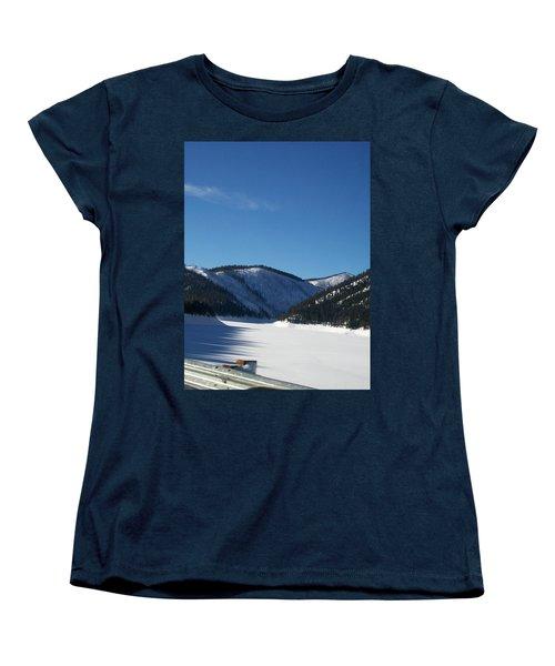 Tree Shadows Women's T-Shirt (Standard Cut) by Jewel Hengen