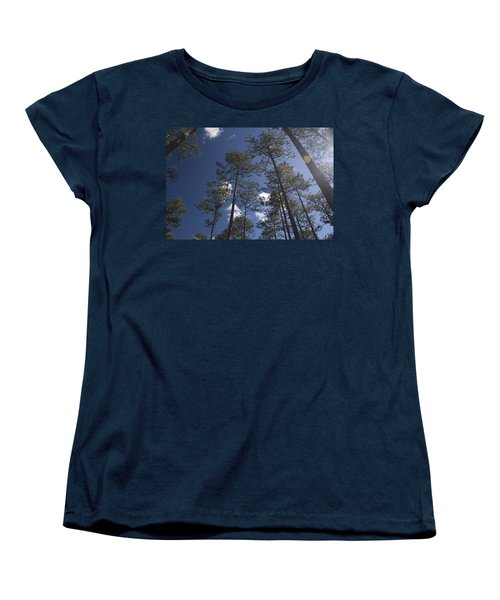 Women's T-Shirt (Standard Cut) featuring the photograph Trees And Nature by Charles Beeler