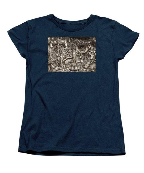 Tripping Through Bogomils Mind Women's T-Shirt (Standard Cut) by Otto Rapp