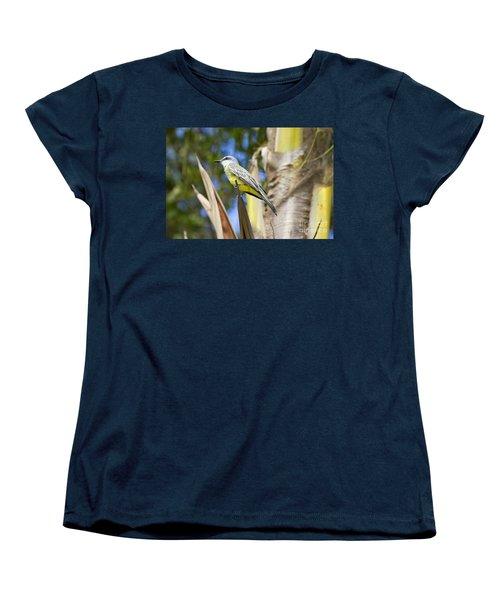 Women's T-Shirt (Standard Cut) featuring the photograph Tropical Kingbird by Teresa Zieba