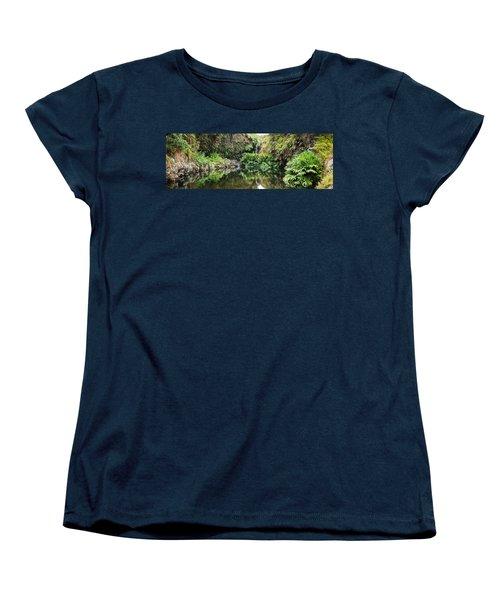Tropical Reflections Women's T-Shirt (Standard Cut) by Denise Bird