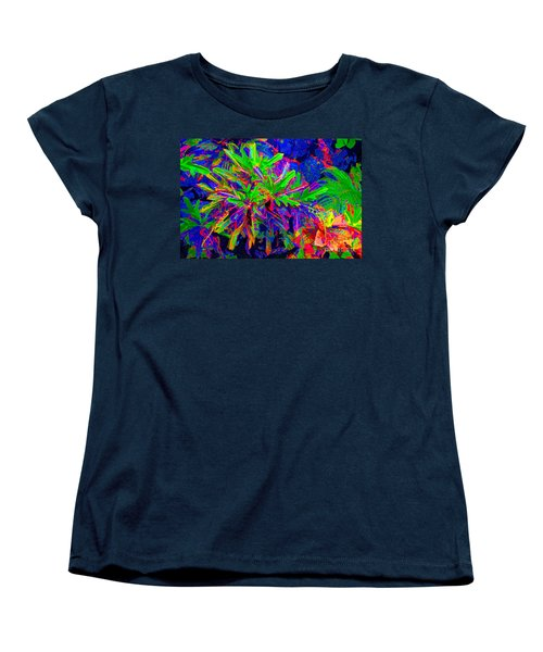 Women's T-Shirt (Standard Cut) featuring the photograph Tropicals Gone Wild by David Lawson